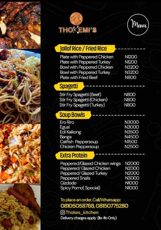 Thokemi Kitchen's ad on thespiritpen.com