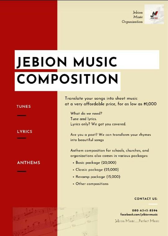 Jebion Music Ad on thespiritpen.com